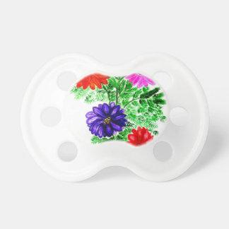 Chupeta Buquê das flores Art2