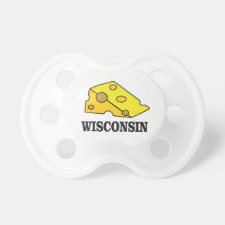 Chupeta Cabeça do queijo de Wisconsin