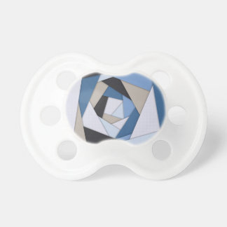 Chupeta Camadas geométricas dos azuis abstratos