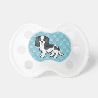 Chupeta Cão descuidado Tricolor dos desenhos animados do