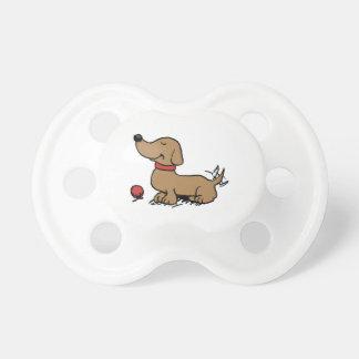Chupeta Cão feliz que quer jogar