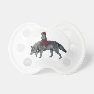Chupeta Capa de equitação vermelha