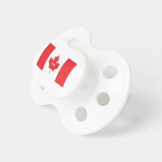 Chupeta Cara canadense da folha de bordo