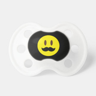 Chupeta Cara de Emoji do bigode