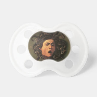 Chupeta Caravaggio - Medusa - trabalhos de arte italianos