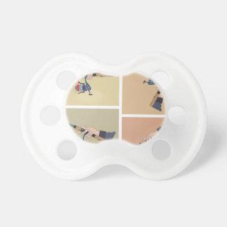 Chupeta Carretel de giro de moldação com posições da haste
