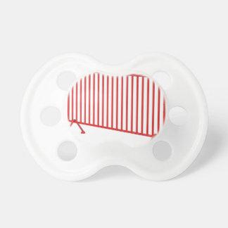 Chupeta Cerca móvel vermelha