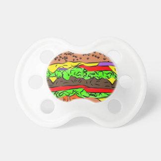 Chupeta Cheeseburger