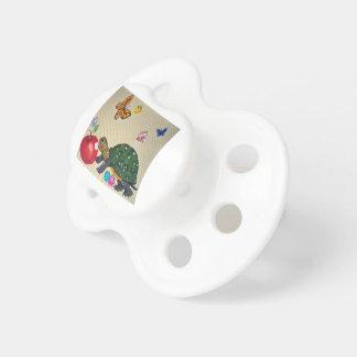 Chupeta Chique do presente do bebê do design da tartaruga