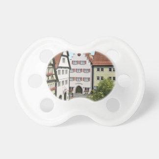 Chupeta Cidade de Baviera de cima de