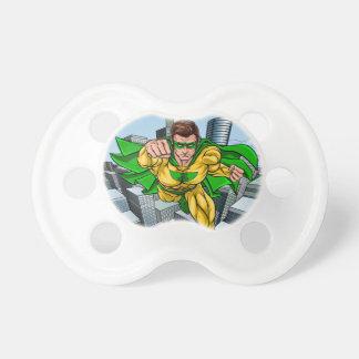 Chupeta Cidade do super-herói do vôo da banda desenhada