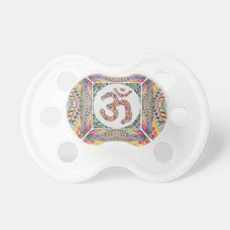 Chupeta Coleção da jóia da mantra do OM