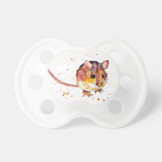 Chupeta com rato doce multicolor