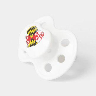 Chupeta Coração de Maryland