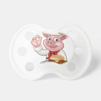 Chupeta Cozinheiro chefe do porco que guardara o