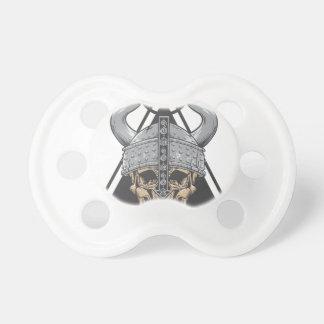 Chupeta Crânio de Viking
