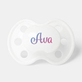 Chupeta Cursive à moda de Ava