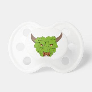 Chupeta Desenho principal verde de Bull