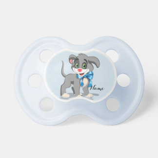 Chupeta Desenhos animados do filhote de cachorro do nariz
