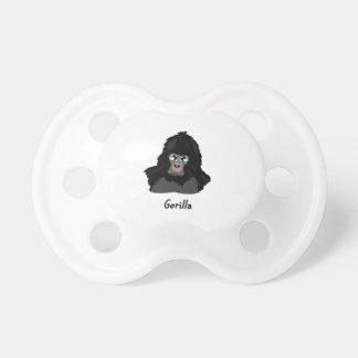 Chupeta Design do gorila