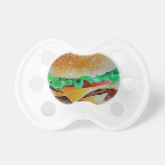 Chupeta design do Hamburger, pintura original