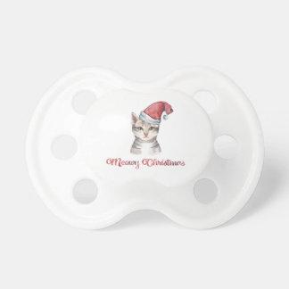 Chupeta Design do Natal de Meowy para amantes do gato
