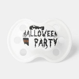 Chupeta Design do partido do Dia das Bruxas