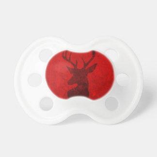 Chupeta Design do veado vermelho