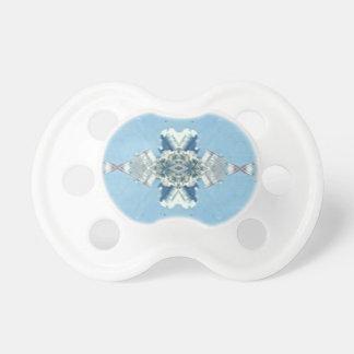 Chupeta Design macio azul moderno