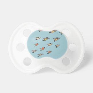 Chupeta Design personalizado do pássaro do vintage de |