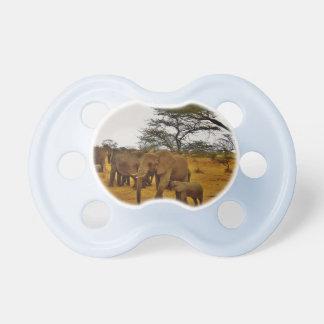 Chupeta Destinos animais do destino do impressão de África