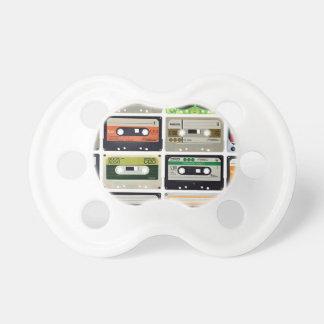 Chupeta Dezesseis cassetes áudio