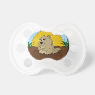 Chupeta Dia de Groundhog