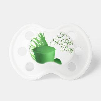 Chupeta Dia de São Patrício feliz, santo irlandês do