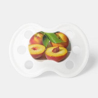 Chupeta Do pêssego da fruta imagem deliciosa e fresca da