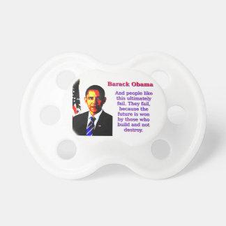 Chupeta E as pessoas gostam desta - Barack Obama