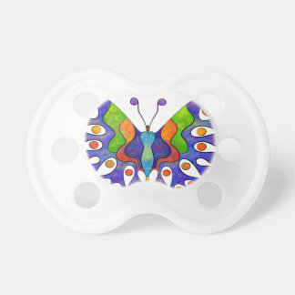 Chupeta Elenissina - borboleta colorida