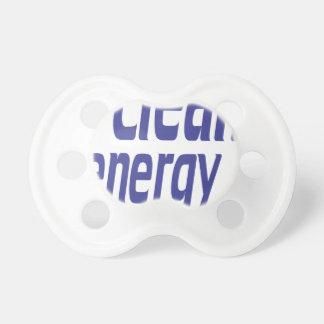 Chupeta Energia limpa