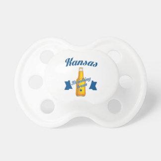 Chupeta Equipe do bebendo de Kansas