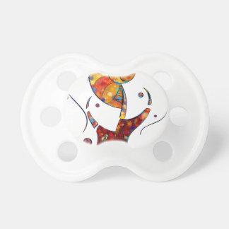 Chupeta Espanessua - flor espiral imaginária