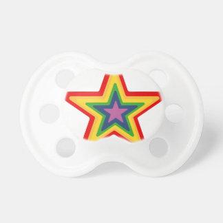 Chupeta Estrela do arco-íris