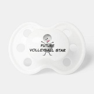 Chupeta Estrela futura do voleibol