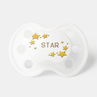 Chupeta estrelas