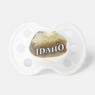 Chupeta Etiqueta da batata de Idaho
