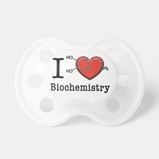Chupeta Eu amo a bioquímica