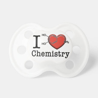 Chupeta Eu amo a química