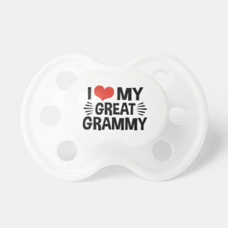 Chupeta Eu amo meu grande Grammy