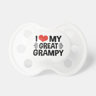 Chupeta Eu amo meu grande Grampy