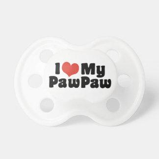 Chupeta Eu amo meu PawPaw