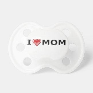 Chupeta Eu amo minha mamã
